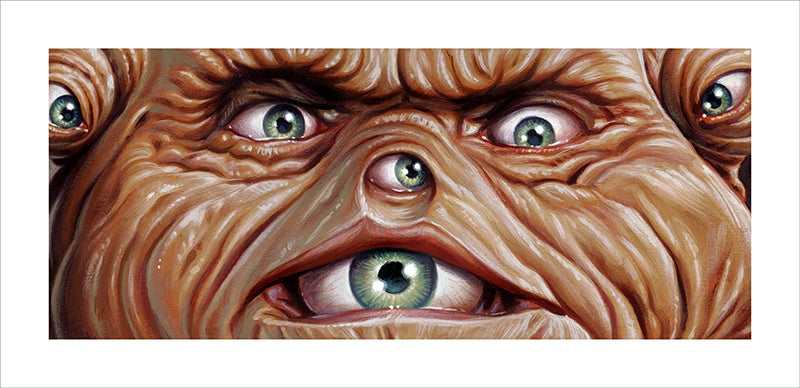 """The Guardian"" - 16.5"" x 8""  limited edition OVERSIZED giclee"