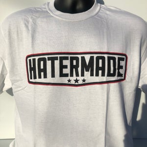 "Image of ""Middle Finger"" By Hatermade Clothing Co. (White)"