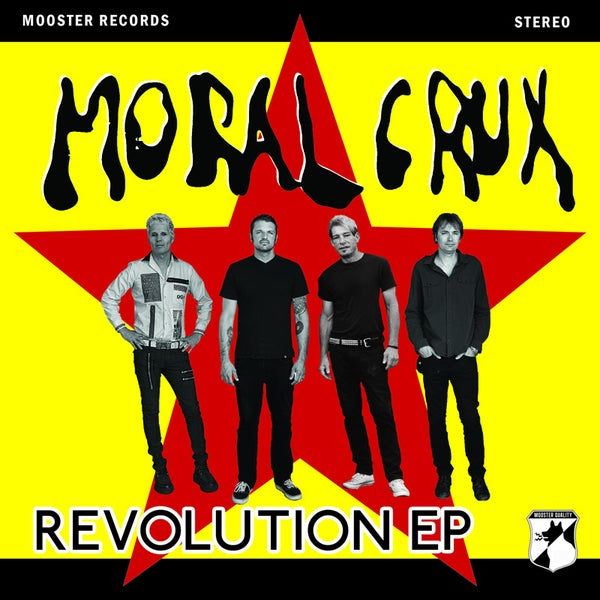 "Image of Moral Crux - Revolution EP (7"")"