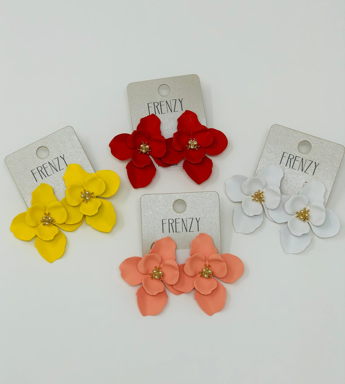 Image of Floral Frenzy Earrings
