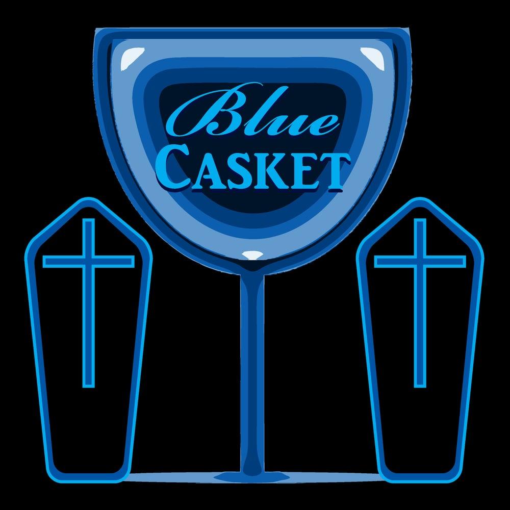 Image of Blue Casket
