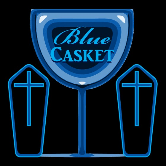 Image of Blue Casket