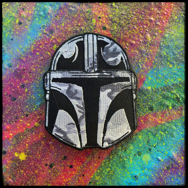 Image of Snow Mando patch