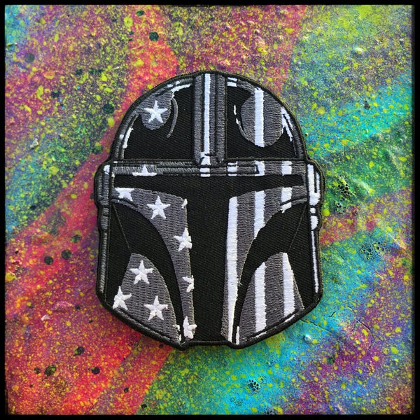 Image of Gray Mando patch