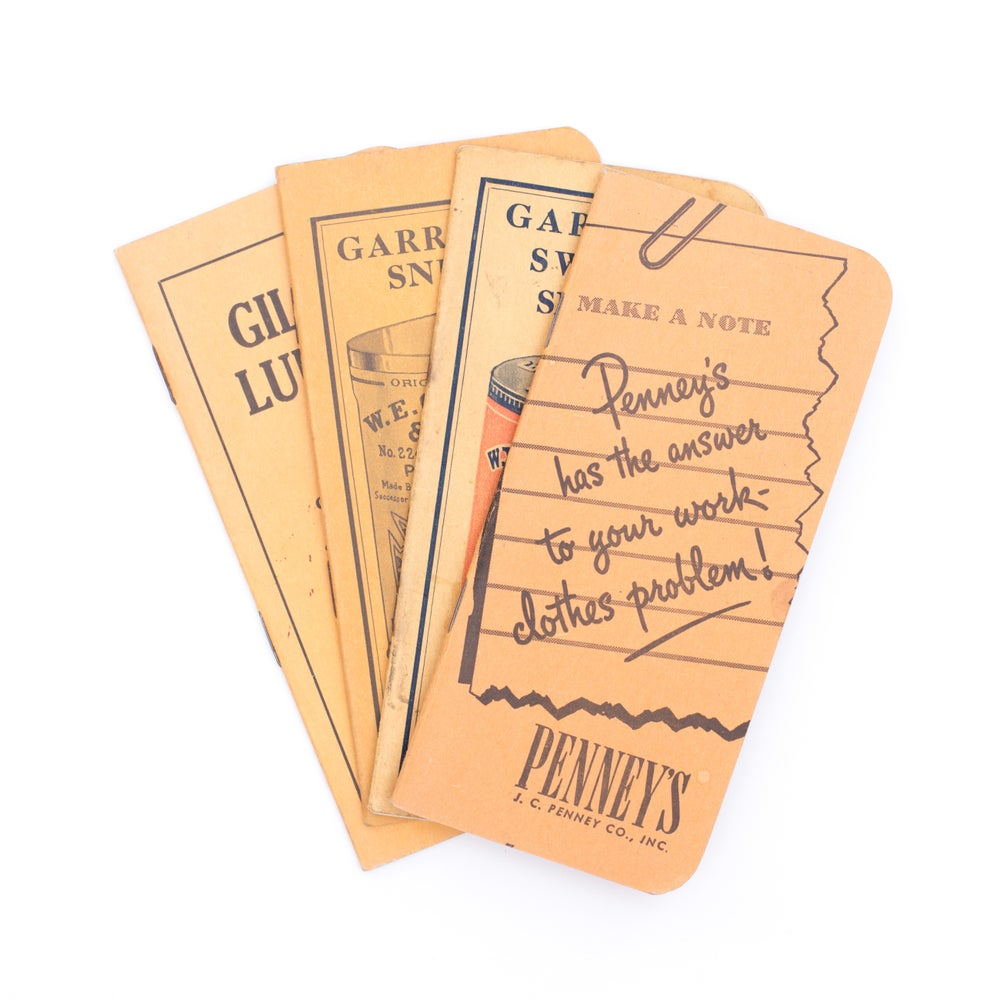 Image of Mini Pocket Notebooks - Set of 4