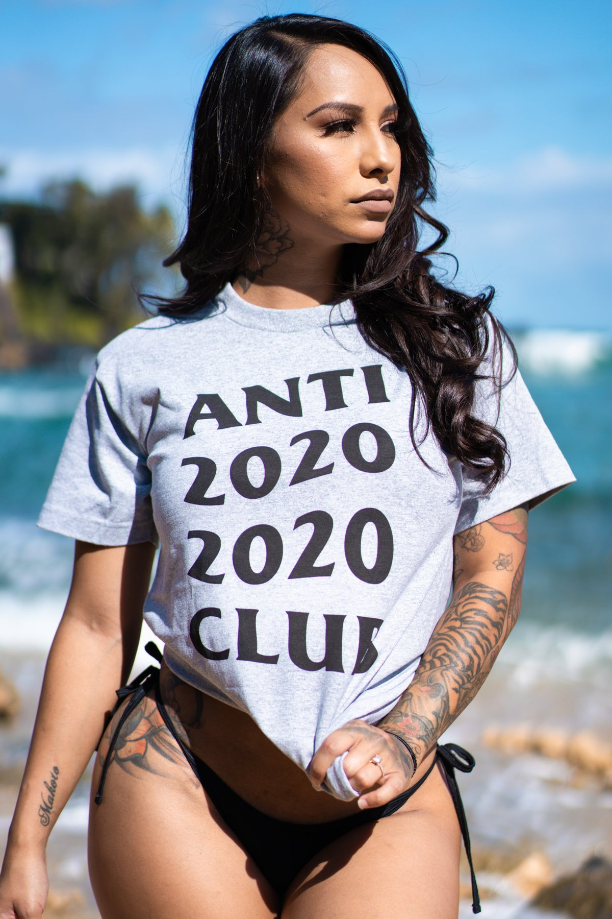 Anti 2020 2020 Club T-shirt (Grey)