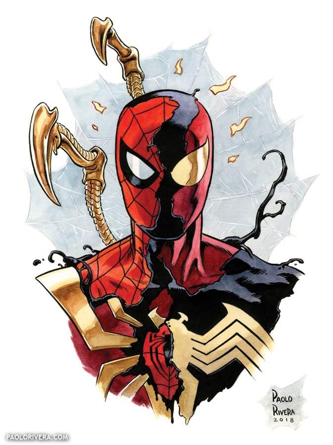 Image of Spider-Man × 3