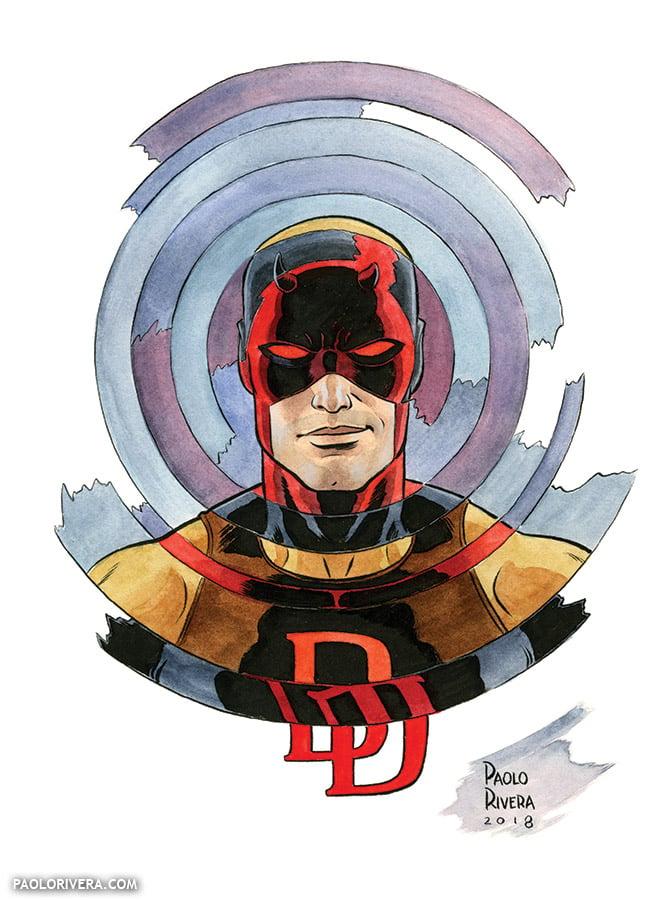Image of Daredevil × 3