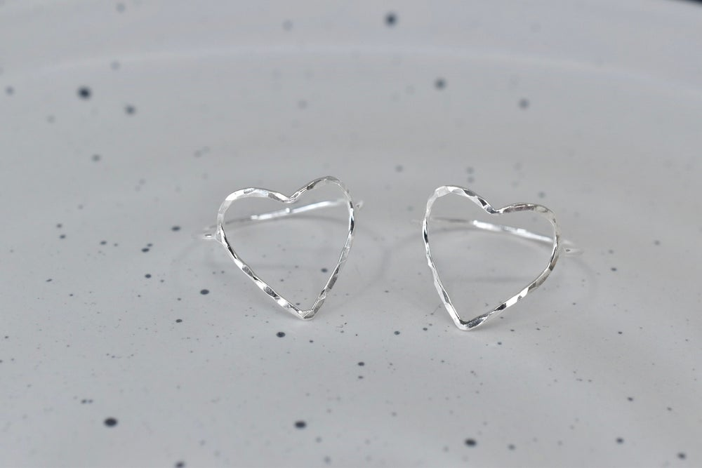 Image of Heart Ring in Sterling Silver