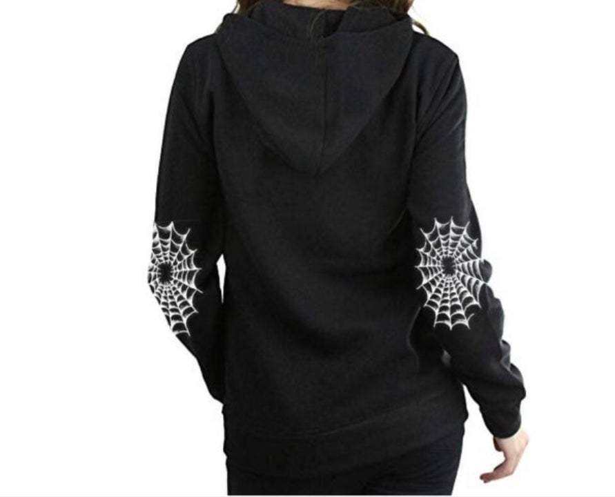 Image of Spooky Glam GLITTER Unisex Pullover Hoodie