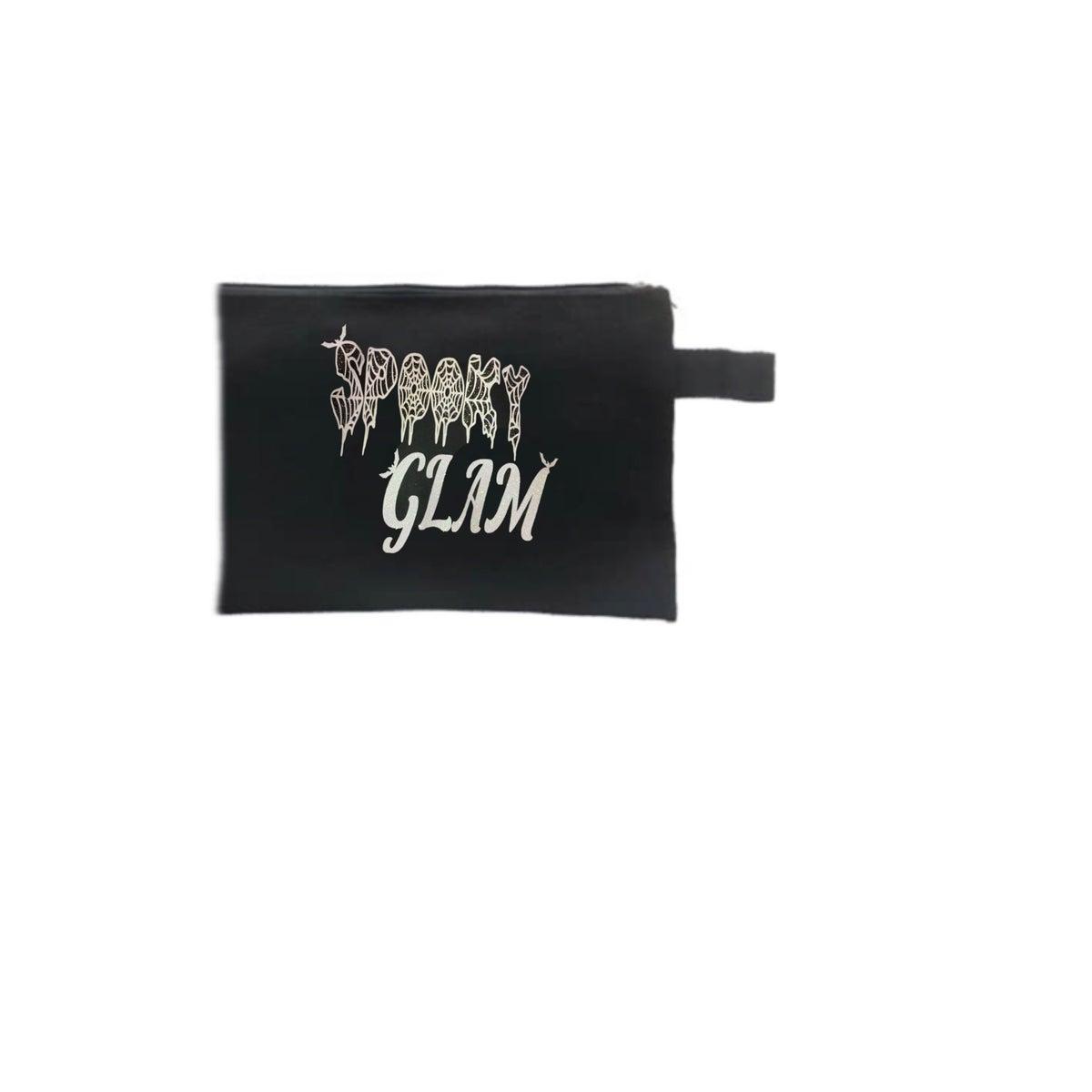 Image of Spooky Glam GLITTER Makeup Bag