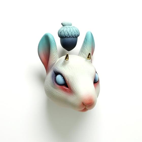 Image of Chikkoi Risu (pink/open eyes/gold horns)