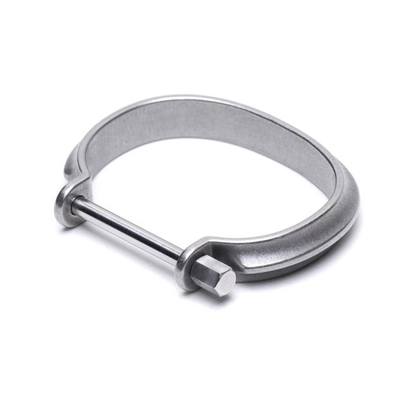 Image of DRILLING LAB - Clamp Bracelet (Silver)
