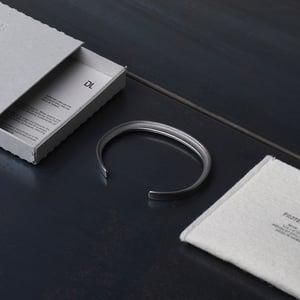 Image of DRILLING LAB - Framework Bracelet (Silver)