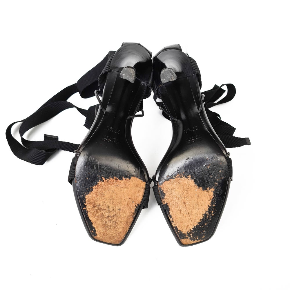 Image of Tom Ford for Gucci Ankle Tie High Heels
