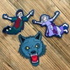 Grinning Man WOVEN PATCHES