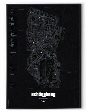 Image of Berlin Schöneberg underground Karte