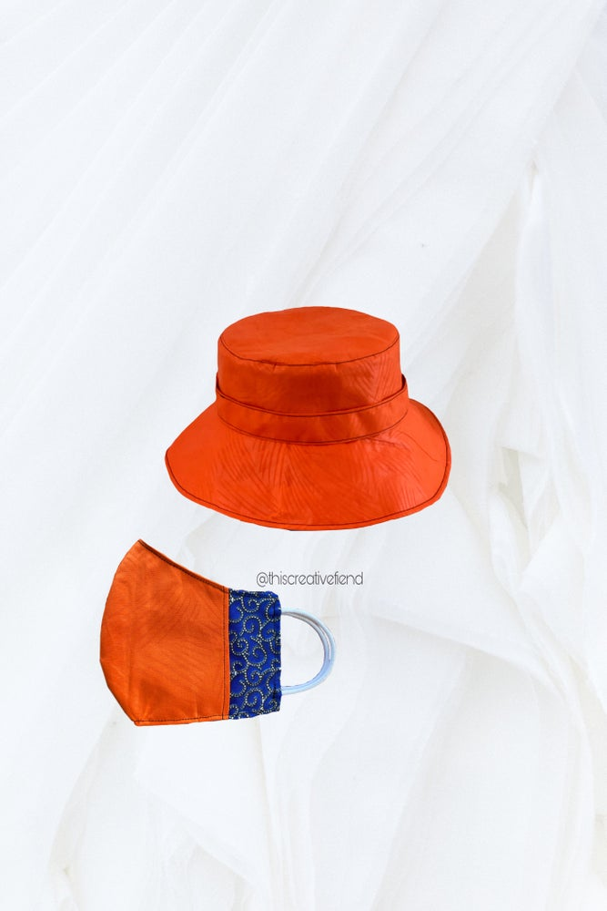 Image of 🍊Bucket Hat & Mask set