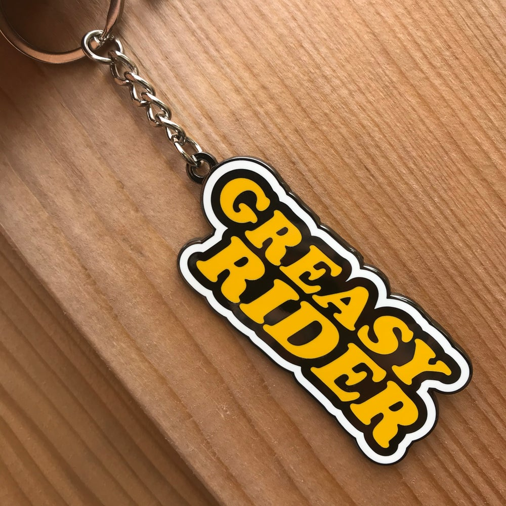 Image of Greasy Rider Keychain