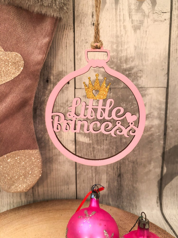 Image of Little Princess bauble