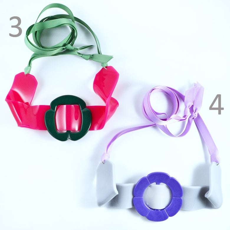 Image of Buckle Necklaces 3 and 4