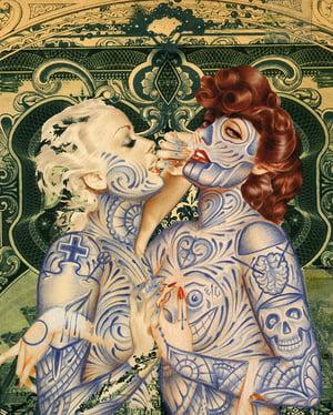 Image of ELEGANT UNIVERSE | MIXED MEDIA ARTWORK
