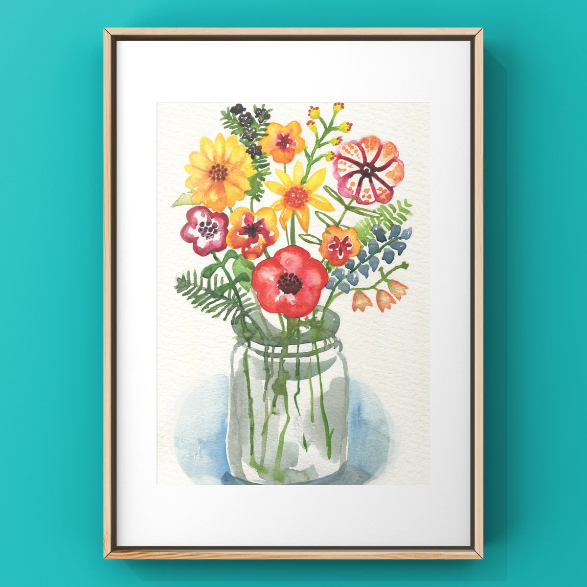Summer Posy Limited Edition Print