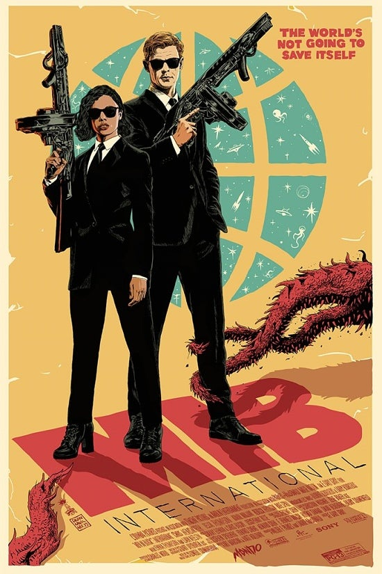 Image of MIB INTERNATIONAL  - Mondo AP 24x36