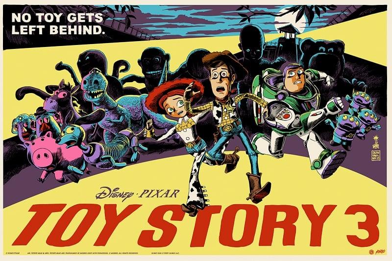 Image of TOY STORY 3  - Mondo AP 24x36