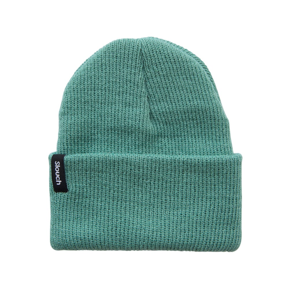 Image of Aquamarine Knit Cuff Beanie