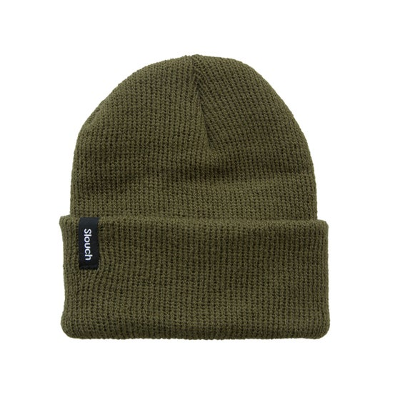 Image of Army Green Knit Cuff Beanie