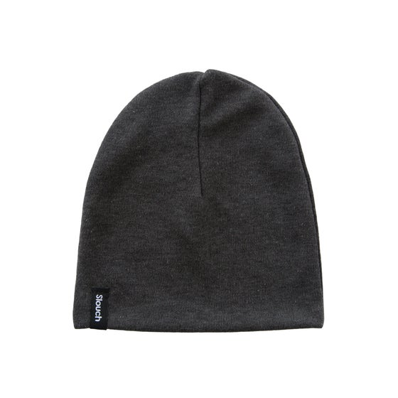 Image of Charcoal Slouch Beanie