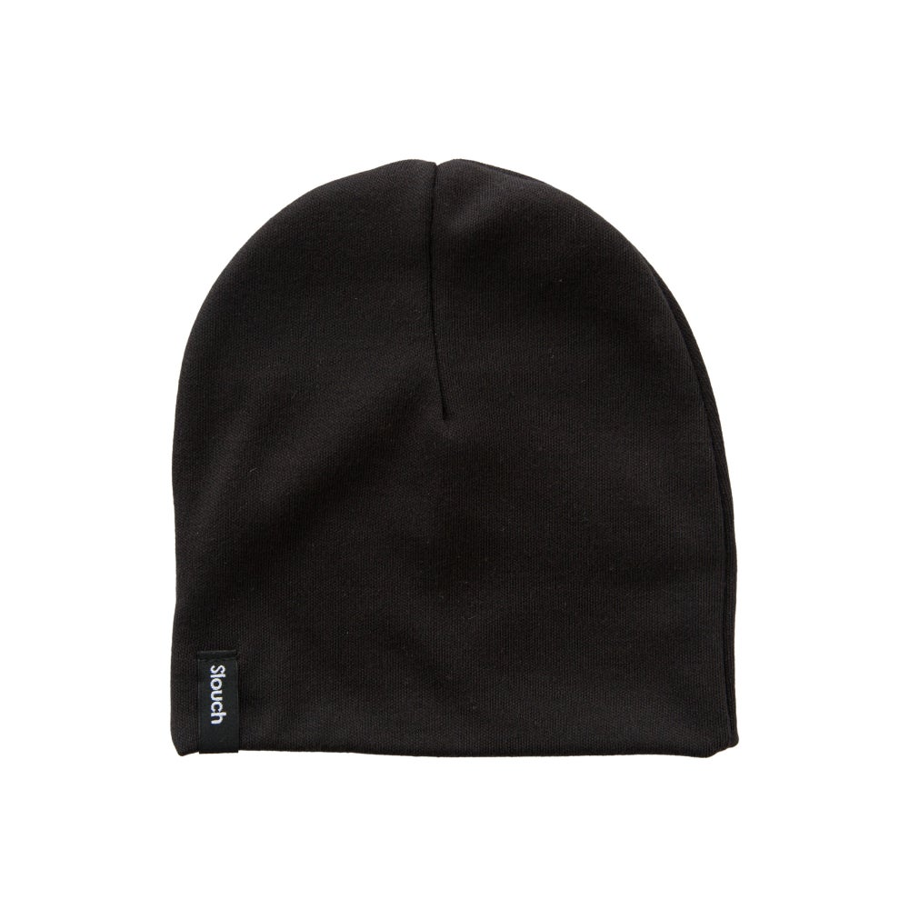 Image of Black Slouch Beanie