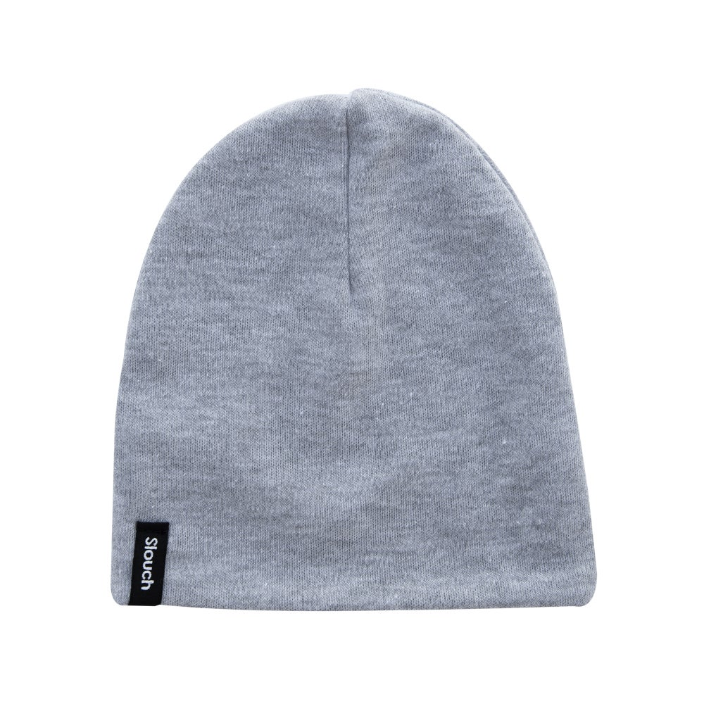 Image of Heather Gray Slouch Beanie