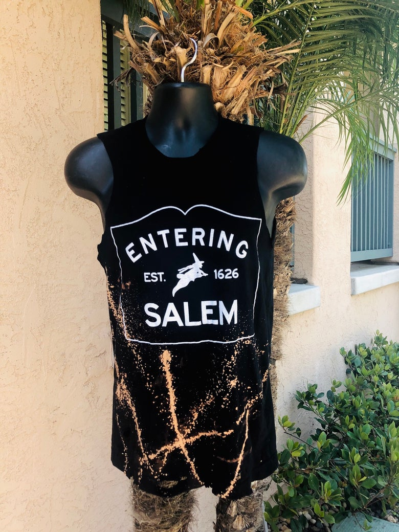 Image of Entering Salem Distressed & Classic Tees