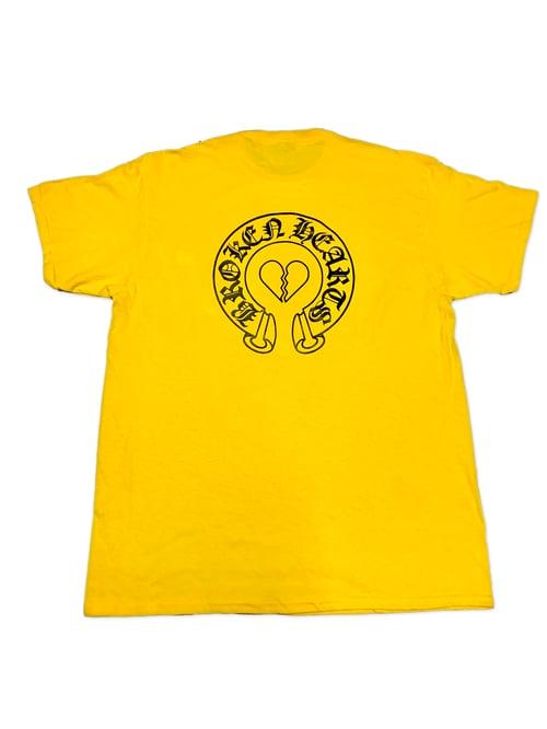 Image of Broken Hearts Tee (Yellow)