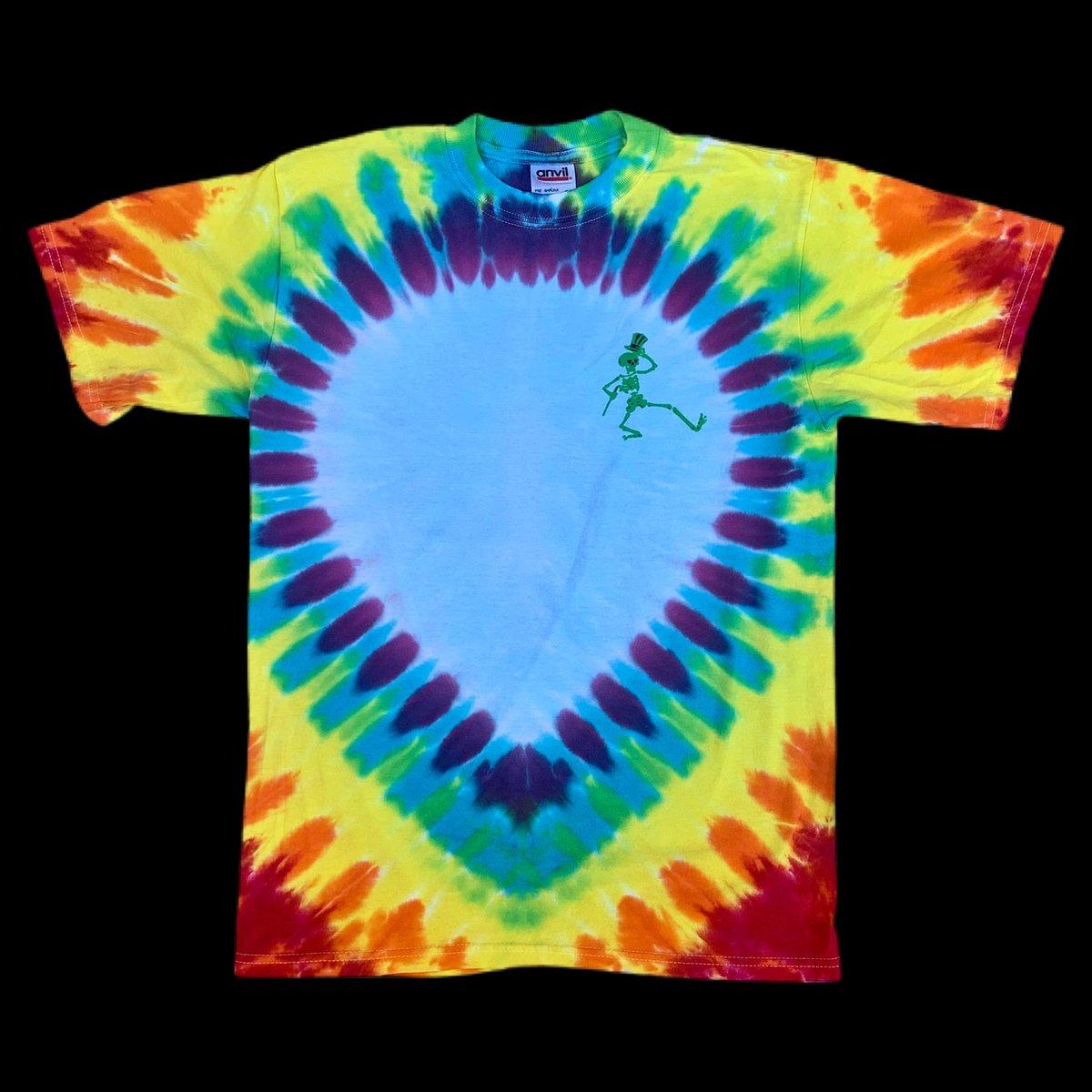 Original Vintage Grateful Dead 1990's SYF Bear Dye!! Small