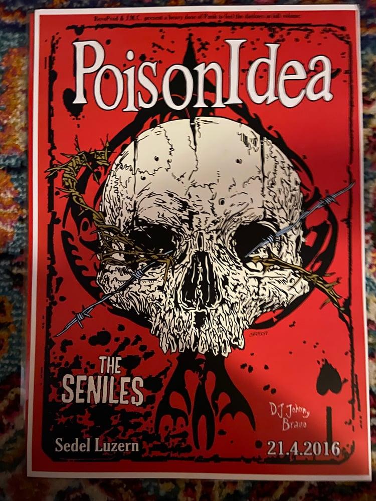 Image of POISON IDEA-Tour Poster