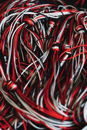 Image of Adrian Esteban Black/Red/Grey String Pack