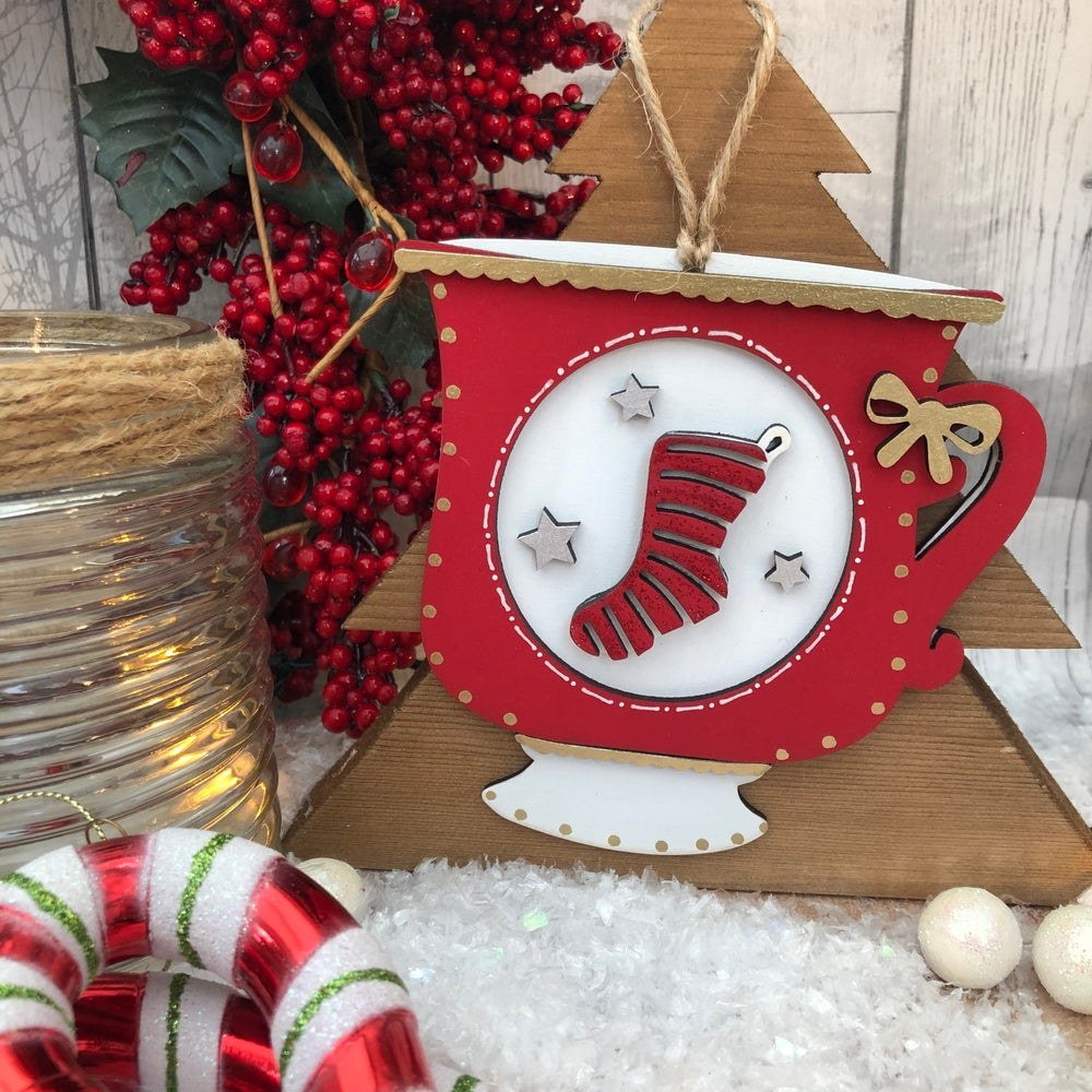 Image of Christmas Mug - Stocking