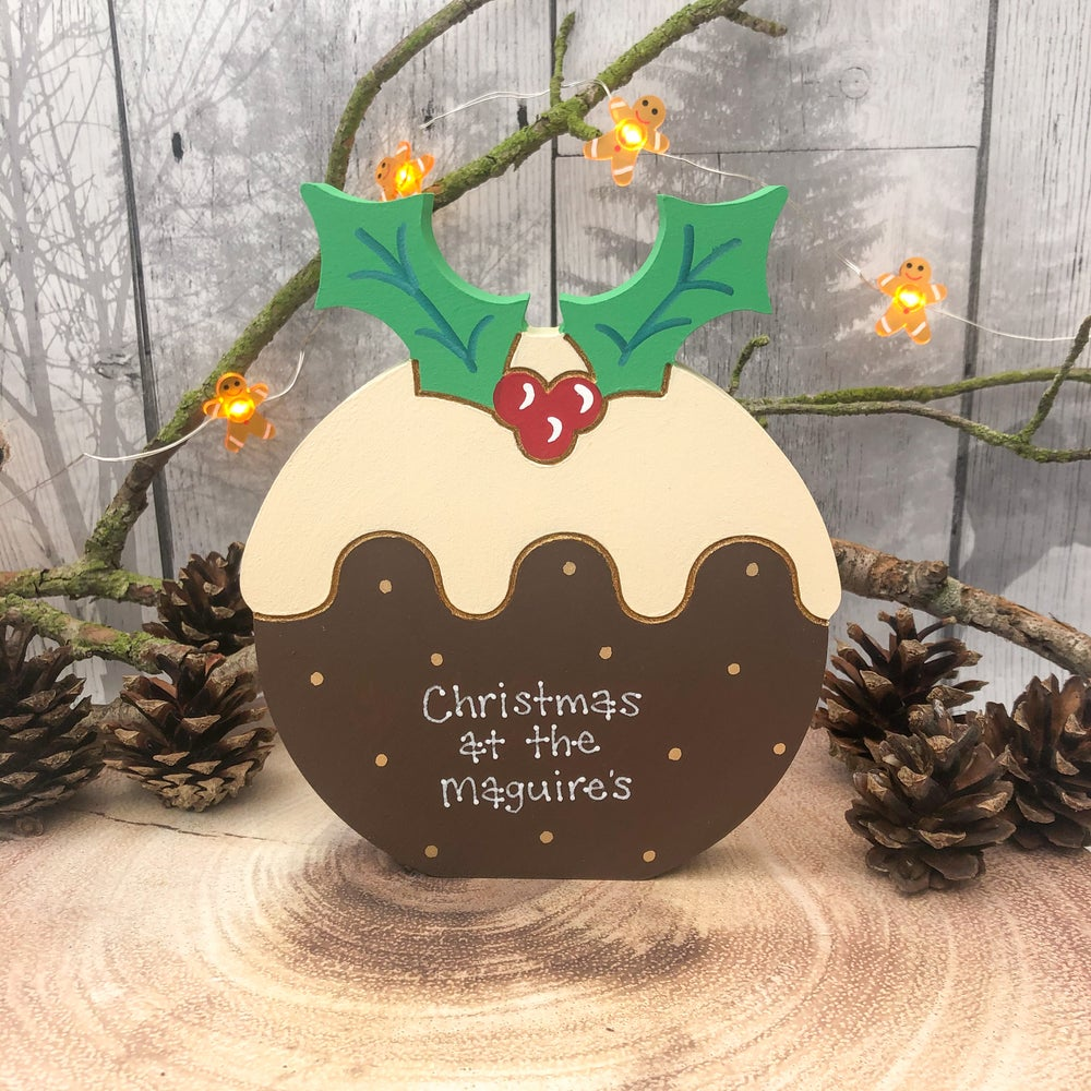 Image of Christmas Pudding (freestanding)
