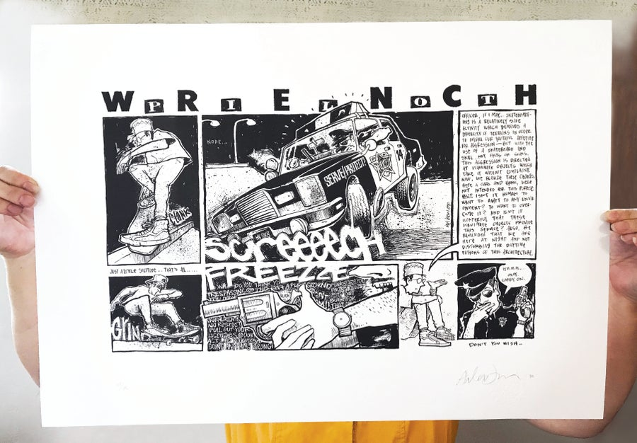Image of Wrench Pilot 30th Anniversary print