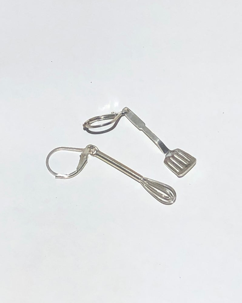 Image of Utensil Earrings