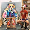 """60"""" x 48"""" Large Commission Work"""