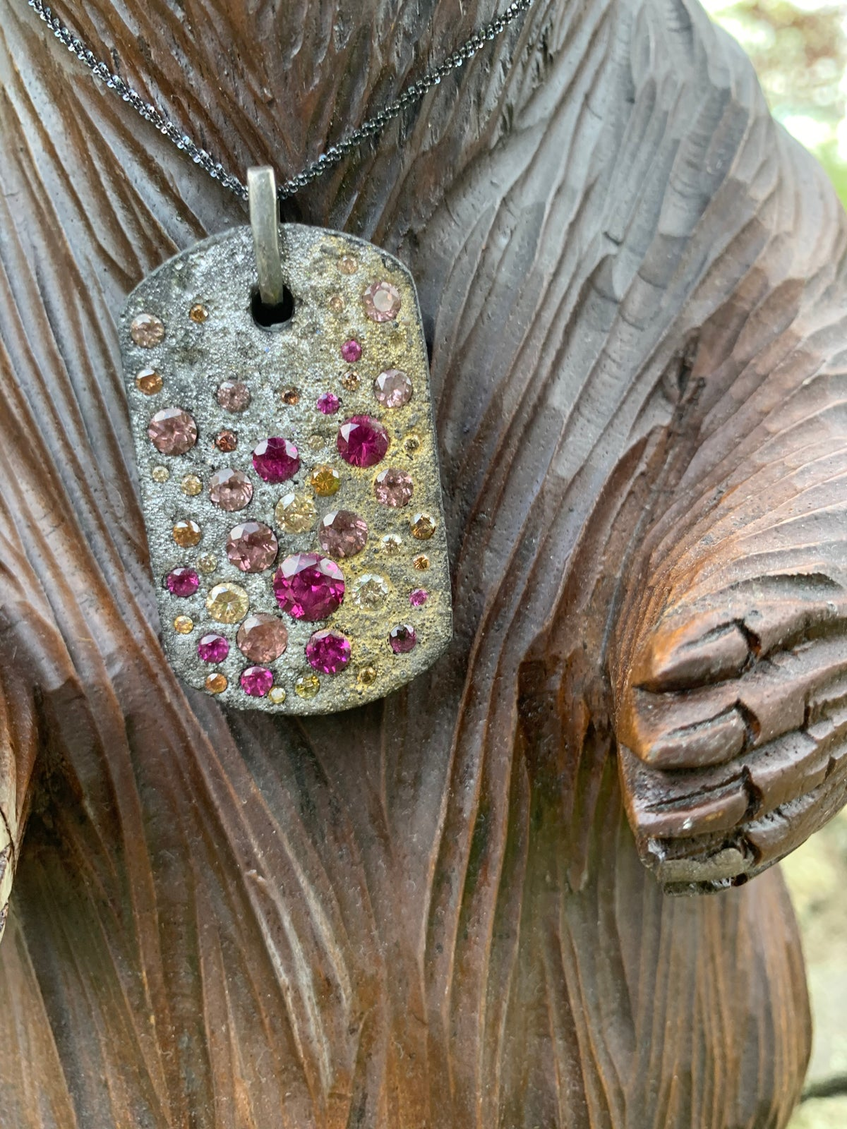 Image of Celestial Dog Tag Necklaces