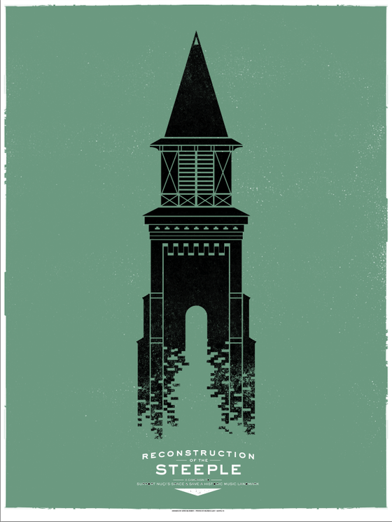 Image of *Limited Edition* Steeple Poster