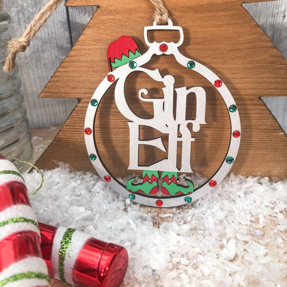 Image of Boozy Elf Bauble