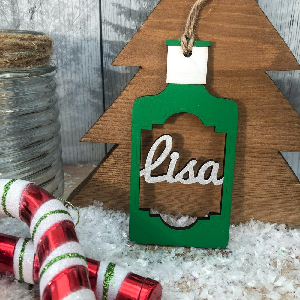 Image of Gin Bottle Decoration