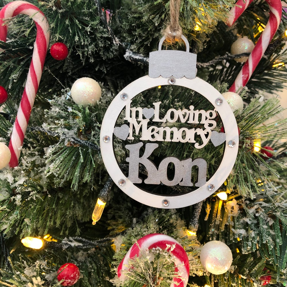 Image of In Loving Memory wooden decoration