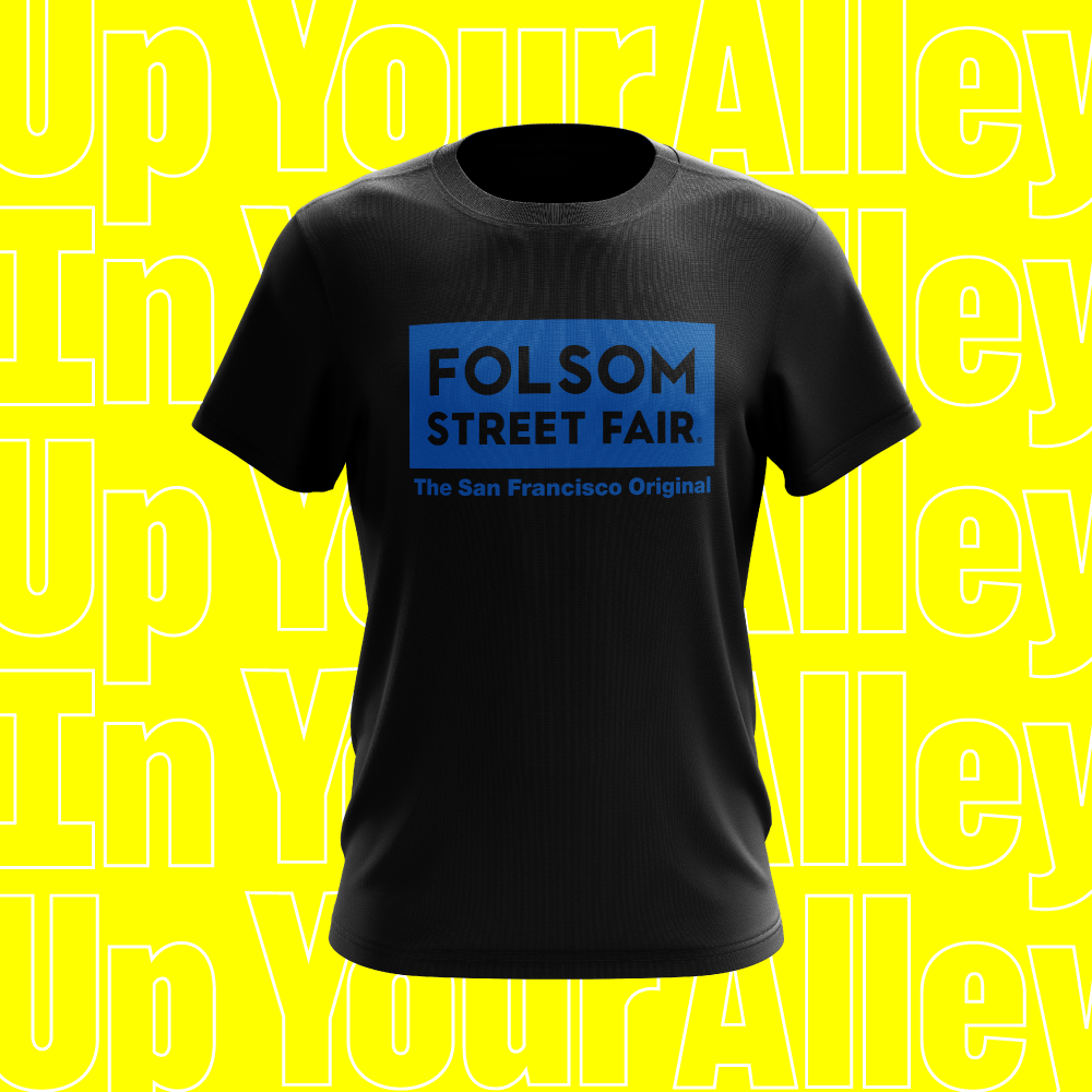 Image of 2020 Folsom Street Fair Logo T-Shirt -- PREORDER
